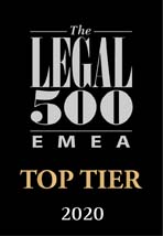 Top Tier Legal 500 - Belgium Financial Services - Simont Braun