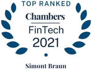 belgium chambers 2021 Fintech Simont Braun