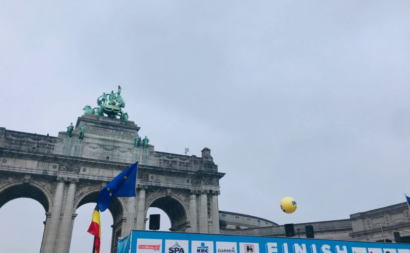 Simont Braun runs the 20km Brussels to support Arthur Forever ASBL