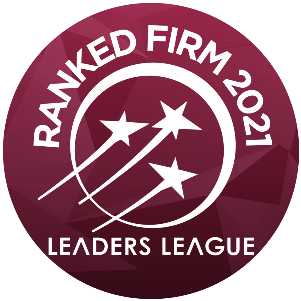 Leaders' League - Leading law firm corporate, M&A, private equipy, Real estate
