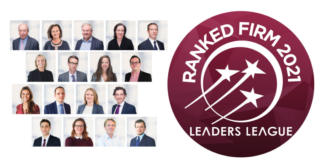 Leaders' League is a legal guide with an international reach that ranks the best law firms by country and by area of practice. The first part of the 2021 rankings has just come out, and we are happy to be featured in the following categories: - Mergers & Acquisitions: Highly recommended - Real Estate: Highly recommended - Private Equity: Recommended Congratulations to our teams! All current Simont Braun's rankings are available here, but we will have to be patient for the other 2021 results to come out… Stay tuned.