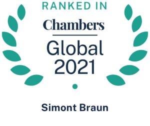 Chambers global 2021 Simont Braun Belgium
